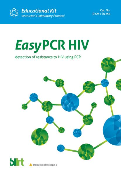 EasyPCR HIV+ DNA isolatio Edu Kits