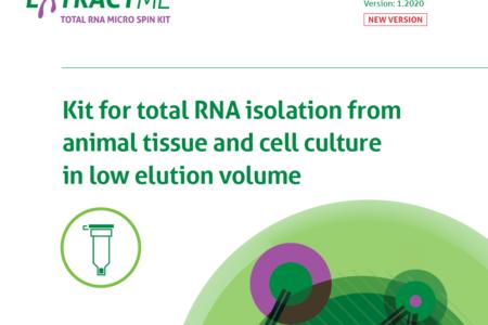 EM31 Total RNA Micro spin